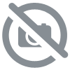 SET DE TABLE CHAT NOIR OREILLES BLANCHES